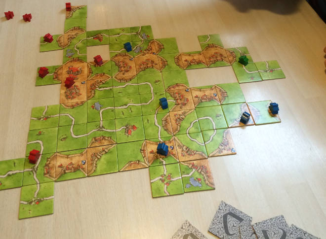 Carcassonne vs. Samsung